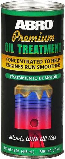 Abro Premium Oil Treatment присадка в моторное масло (443 мл)