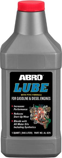 Abro Lube присадка в масло с тефлоном