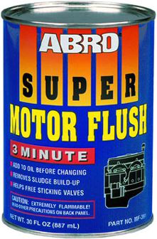 Abro Super Motor Flush 3 Minute промывка двигателя