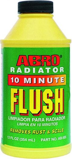 Abro Radiator 10 Minute Flush промывка радиатора (354 мл)