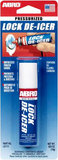 Abro Pressurized Lock De-Icer размораживатель замков