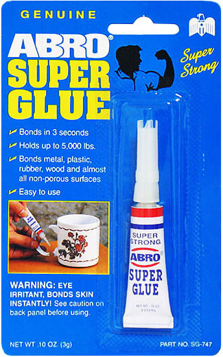 Abro Super Glue супер клей (3 г)