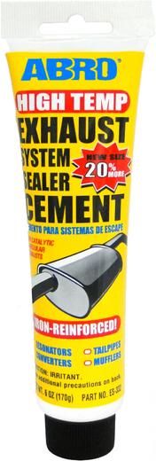 Abro Exhaust System Sealer Cement цемент глушителя