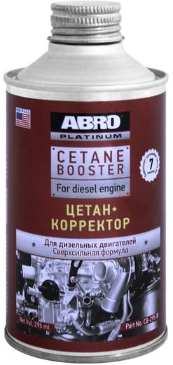 Abro Cetane Booster for Diesel Engine цетан-корректор для дизельных двигателей (295 мл)