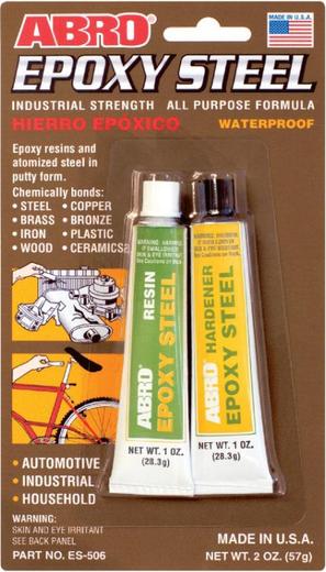Abro Epoxy Steel клей эпоксидный универсальный