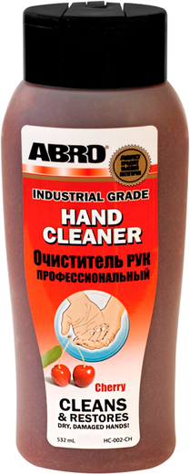 Abro Hand Cleaner очиститель рук профессиональный (532 мл)