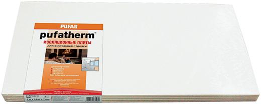 Пуфас Pufatherm теплоизоляционная плита для внутренней отделки (7 мм*1 м/0.5 м)