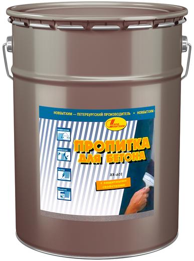 Новбытхим ХВ-601 пропитка для бетона (3 л) бесцветная