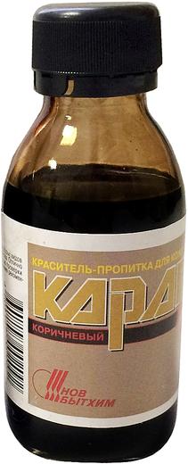 Новбытхим Карат краситель-пропитка для кожи (100 мл) черная