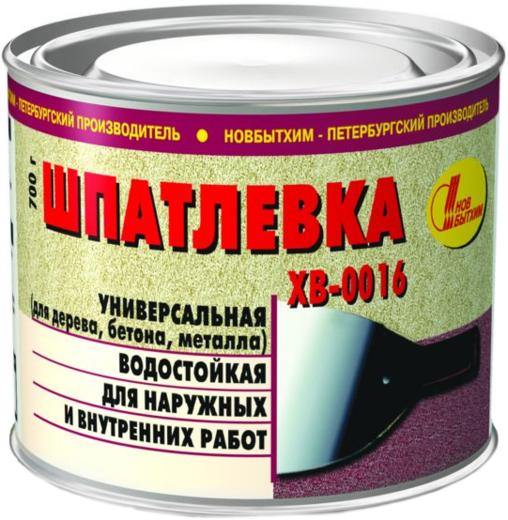 Новбытхим ХВ-0016 шпатлевка универсальная (700 г)