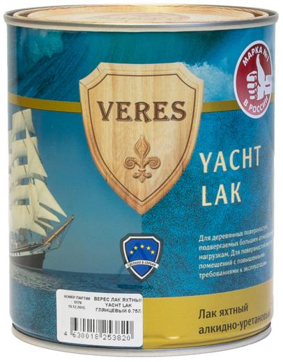 Yacht lak яхтный глянцевый 750 мл глянцевый