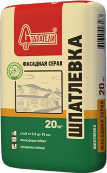 Старатели шпатлевка фасадная серая (20 кг)