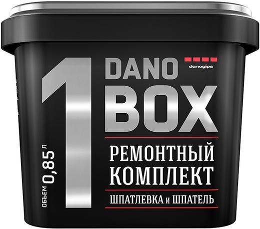 Danogips Dano Box 1 ремонтный комплект шпатлевка и шпатель (1 кг)