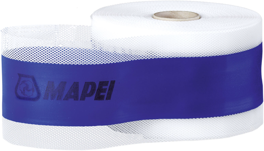 Mapei Mapeband щелочестойкая прорезиненная лента для цементных гидроизоляционных систем