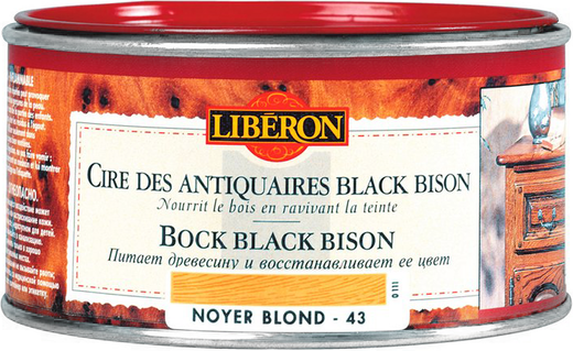 Liberon Black Bison воск для дерева (500 мл) дуб тюдор