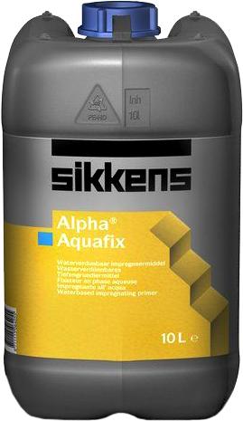 Sikkens Wood Coatings Alpha Aquafix стабилизирующий грунт для внутренних и наружных работ (10 л)