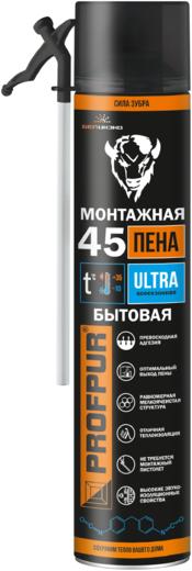 Profpur Ultra полиуретановая монтажная пена (750 мл) пистолетная