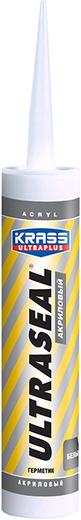 Krass Ultraplus Ultraseal герметик акриловый (260 мл) белый