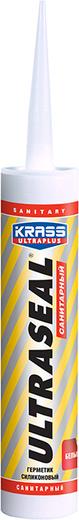 Krass Ultraplus Ultraseal герметик силиконовый санитарный (260 мл) белый