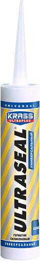 Krass Ultraplus Ultraseal герметик силиконовый универсальный (260 мл) белый