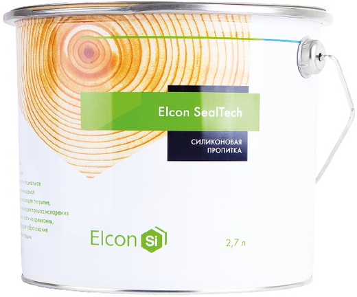 Elcon Sealtech силиконовая пропитка для защиты торцов (2.7 л) бесцветная
