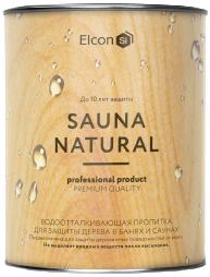 Elcon Sauna силиконовая пропитка для бань и саун (2.7 л) молочная