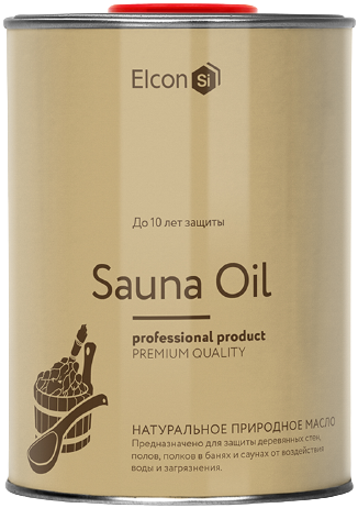 Elcon Sauna Oil масло для полков