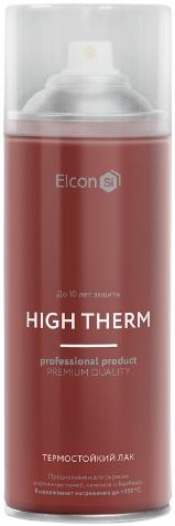 Elcon термостойкий лак