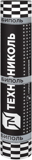 Биполь гидроизоляционный кровельный 1*10 м серый