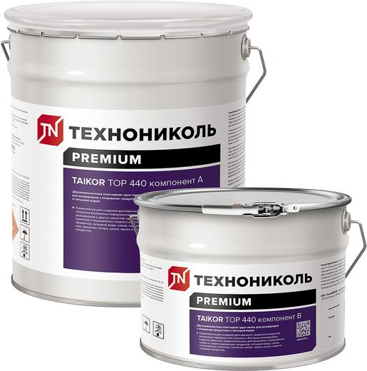 Технониколь Taikor Top 440 двухкомпонентная тиксотропная эпоксидная грунт-эмаль (20 кг) белая
