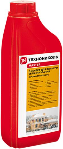 Технониколь Master добавка для зимнего бетонирования противоморозная (5 л)