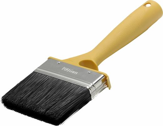 Кисть плоская для наружных работ Anza Basic (100 мм*20 мм) искуственная пластмасса