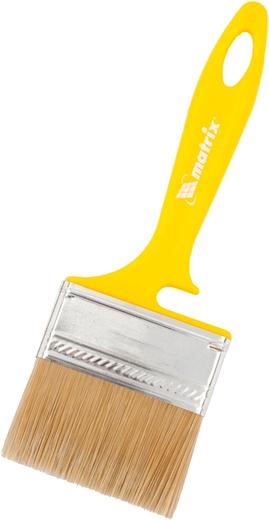 Кисть флейцевая для лаков Matrix Color Line Лаки (70 мм*12 мм) искуственная пластмасса