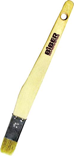 Кисть узкая Бибер (25 мм) натуральная дерево