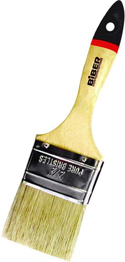 Кисть флейцевая Бибер Суприм (100 мм) натуральная дерево