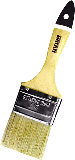Кисть флейцевая Бибер Профи (50 мм) натуральная дерево