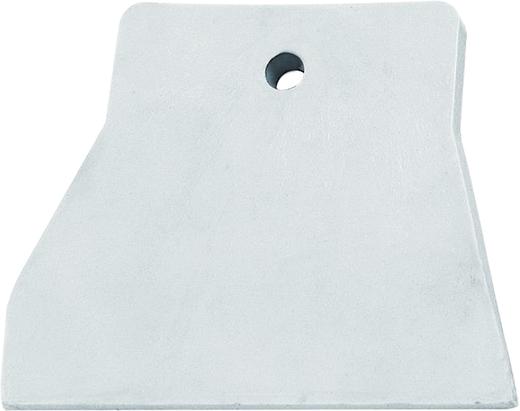T4P шпатель резиновый белый