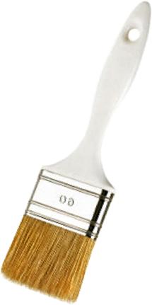 Кисть плоская Beorol Экономик (50 мм*15 мм) натуральная