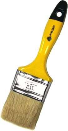 Кисть плоская Кедр Профи (50 мм) натуральная пластмасса