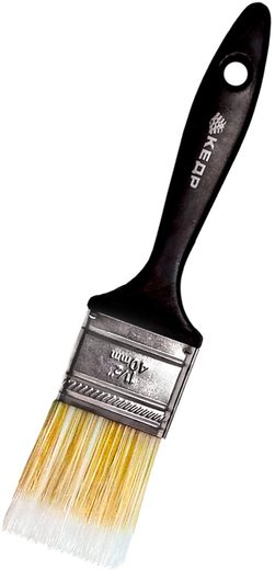 Кисть плоская тонкая Кедр (50 мм) искуственная пластмасса