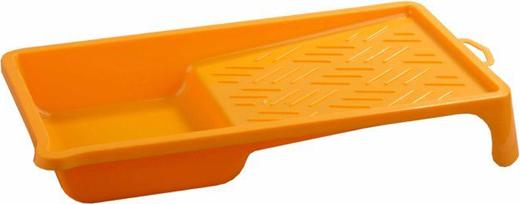 <p>Тип: Малярная ванночка.</p><p>Назначение: Используется для набора и равномерного распределения лакокрасочных материалов по поверхности малярного валика.</p>