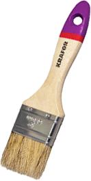 Кисть плоская Крафор Евро (50 мм) дерево