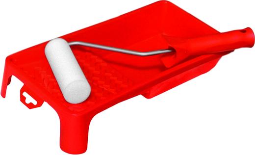 Набор малярный PQtools (5 мини-валиков + 1 ручка) мольтопрен