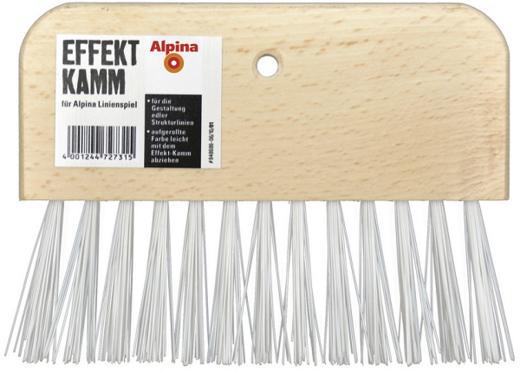 Alpina Effekt Kamm специальный малярный гребень