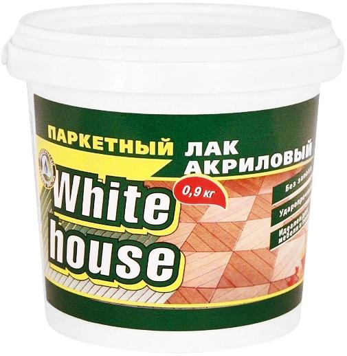 White House лак акриловый паркетный (9 кг)