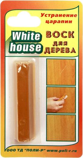 White House восковой карандаш для дерева (15 г) венге темный