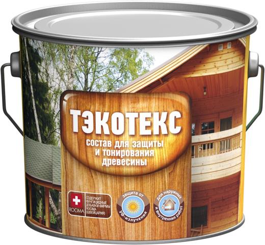 Ярославские Краски Тэкотекс средство для защиты и тонирования древесины (600 г) сосна