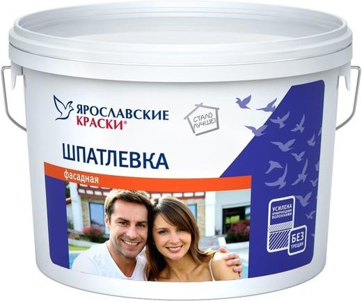 Ярославские краски шпатлевка фасадная