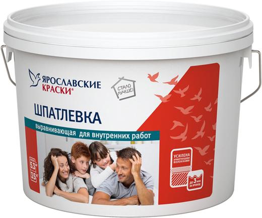 Ярославские Краски шпатлевка выравнивающая для внутренних работ (17 кг)