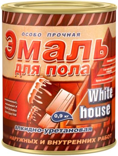 White House эмаль для пола алкидно-уретановая для наружных и внутренних работ